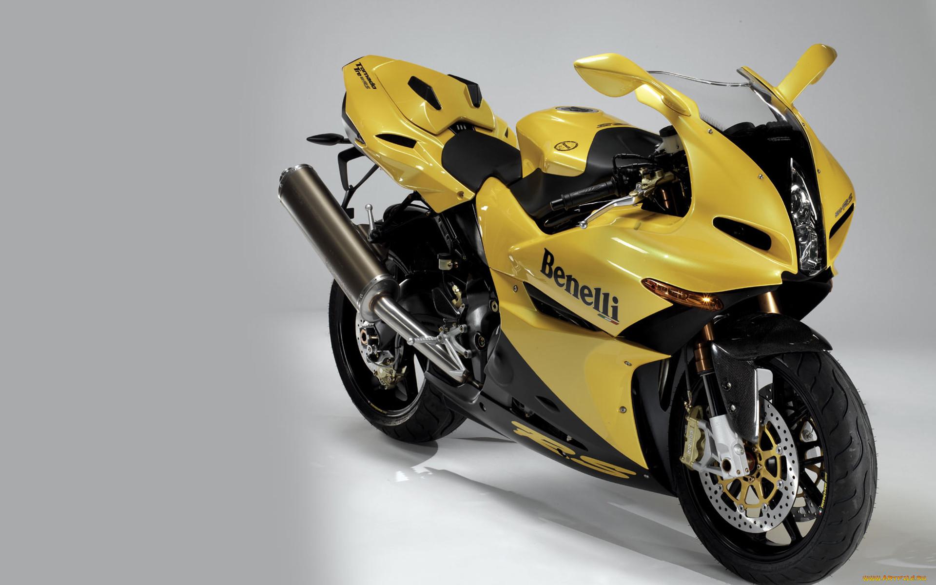 Желтые мотоциклы картинки